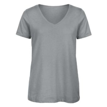 Damen - T-Shirt - B&C - V-Neck / 140 Miniaturansicht